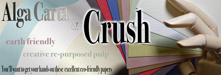 15% off Crush and Alga Paper and Envelopes
