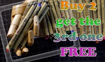 Micron Pens - Buy 2 get 1 Free