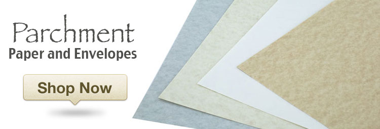 Excellent selection of Parchment Paper and Envelopes