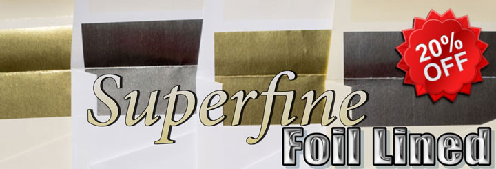 Superfine foil lined envelopes