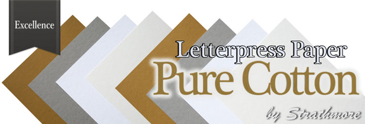 Letterpress paper