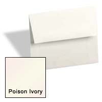 Curious Metallic ENVELOPES - A1 Envelopes - POISON IVORY - 250 PK