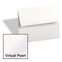 Curious Metallic ENVELOPES - A1 Envelopes - VIRTUAL PEARL - 250 PK