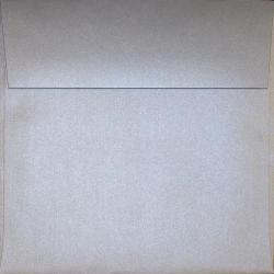 Curious Metallic GALVANISED - 7-1/2 Square Envelopes (7.5-x-7.5) - 25 PK