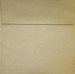 Curious Metallic GOLD LEAF - 7-1/2 Square Envelopes (7.5-x-7.5) - 250 PK