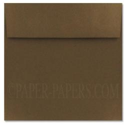 Stardream Metallic - 7.5 in Square ENVELOPES - BRONZE - 250 PK