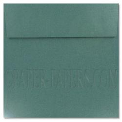 Stardream Metallic - 7.5 in Square ENVELOPES - EMERALD - 25 PK