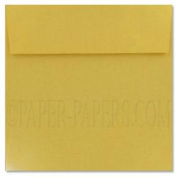 Stardream Metallic - 7.5 in Square ENVELOPES - GOLD - 250 PK