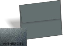 Stardream Metallic - A7 Envelopes (5.25-x-7.25) - ANTHRACITE - 250 PK