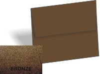 Stardream Metallic - A8 Envelopes (5.5-x-8.125) - BRONZE - 250 PK