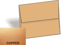 Stardream Metallic - A8 Envelopes (5.5-x-8.125) - COPPER - 250 PK
