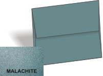 [Clearance] Metallic - A1 ENVELOPES - MALACHITE - 25 PK