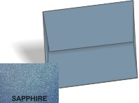 Stardream Metallic - A7 Envelopes (5.25-x-7.25) - SAPPHIRE - 250 PK