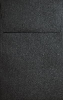 Stardream Metallic Envelopes - A10 VERTICAL ENVELOPES (Open-End) - ONYX - 250 PK