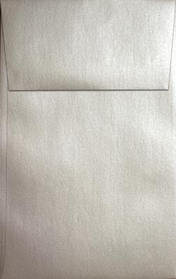 Stardream Metallic Envelopes - A10 VERTICAL ENVELOPES (Open-End) - QUARTZ - 20 PK