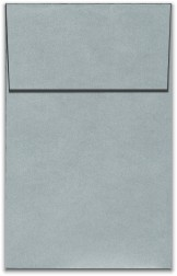 Stardream Metallic Envelopes - A10 VERTICAL ENVELOPES (Open-End) - SILVER - 20 PK