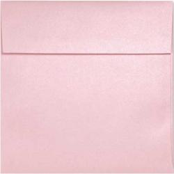 Stardream Metallic - 6.5 Square ENVELOPES - Rose Quartz - 1000 PK