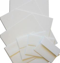 Wild Paper and Envelopes - 35% Cotton -- SAMPLE PACK -- 8 PK