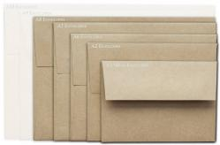 Brown Bag Envelopes - KRAFT - A8 Envelopes - 200 PK