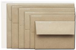 Brown Bag Envelopes - KRAFT - A9 Envelopes - 200 PK