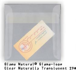 CTI Glama Natural Translucent (Vellum) - 5.5 in Square ENVELOPES - 250 PK