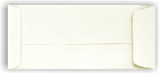 Cougar Opaque WHITE 28/70- Open End (Policy) NO. 10 ENVELOPES - 500 PK