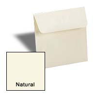 Neenah CLASSIC CREST NATURAL White - 7 in Square Envelopes - 25 PK