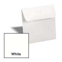 Neenah CLASSIC CREST Solar White - 7 in Square Envelopes - 25 PK
