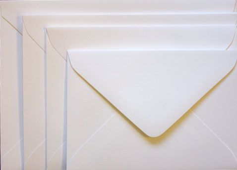 Ultrawhite Euro flap envelopes