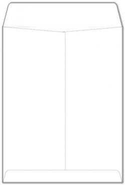 Catalog Envelopes - 28lb WHITE WOVE - (6 x 9) - 500 Box
