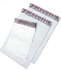 PolyJacket&reg; - Plastic Mailer Envelopes - 10 x 13 - WHITE - 1000 PK