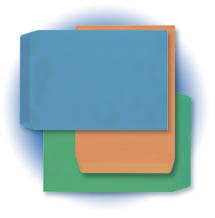 Colorful Catalog Envelopes - Open End - Gummed Flap (10 x 13) - 500 PK