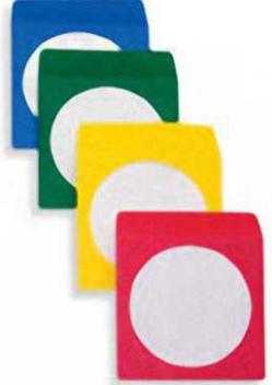 Nobility CD/DVD Envelopes - Assorted Colors - 3600 PK