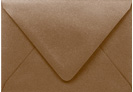 PS Shimmer Metallic - Euro Flap - A1 ENVELOPES - BRONZE - 200 PK