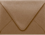 PS Shimmer Metallic - Euro Flap - A2 ENVELOPES - BRONZE - 200 PK