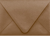 PS Shimmer Metallic - Euro Flap - A6 ENVELOPES - BRONZE - 200 PK