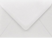 PS Shimmer Metallic - Euro Flap - A7 ENVELOPES - SILVER - 200 PK