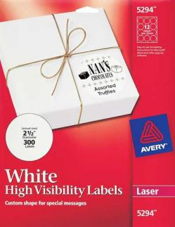 Avery� 5294 - 12 UP Round Labels - Pack of 300