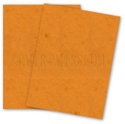 French Paper - DUROTONE - Butcher ORANGE - 8.5 x 11 Paper - 32/80lb TEXT - 50 PK