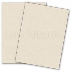French Paper - DUROTONE - Newsprint WHITE - 8.5 x 11 Paper - 28/70lb TEXT - 50 PK