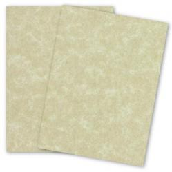 French Parchtone - AGED - 8.5 x 11 Parchment Paper - 32/80lb Text - 400 PK