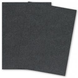 [Clearance] Malmero Noir (Black) - 8.5 x 11 Card Stock Paper - 92lb Cover - 25 PK