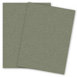 Mohawk Loop Antique Vellum - CYPRESS - 110lb Cover - 26 x 40 Card Stock Paper