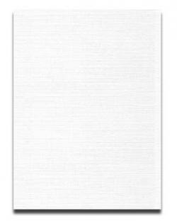 Neenah CLASSIC LINEN 8.5 x 11 Paper - Avon Brilliant White - 24lb Writing - 500 PK