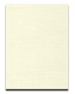 Neenah CLASSIC LINEN 8.5 x 11 Paper - Classic Natural White - 24lb Writing - 500 PK