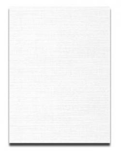 Neenah CLASSIC LINEN 8.5 x 11 Paper - Solar White - 24lb Writing - 500 PK