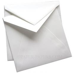 100% Cotton - Royal ENVELOPES - Savoy Brilliant White (7-1/4-x-7-1/4) - Inner/Ungummed - 250 PK