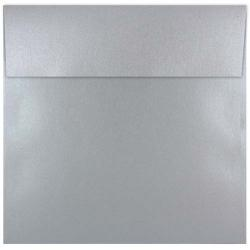 Shine Shimmer SILVER - 7-1/2 Square Envelopes (7.5-x-7.5) - 250 PK