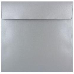 Shine Shimmer SILVER - 7-1/2 Square Envelopes (Flap 2-RC) - 250 PK