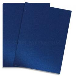 Shine BLUE SATIN - Shimmer Metallic Paper - 28 x 40 - 80lb Text